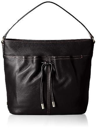 f9ae6b8cc1 Amazon.com: Cole Haan Reiley Hobo, Black: Clothing