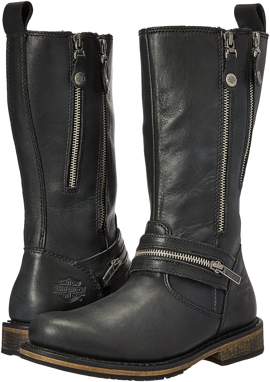 Harley-Davidson Women's Sackett Work Boot B01KVUSZ28 5.5 B(M) US|Black