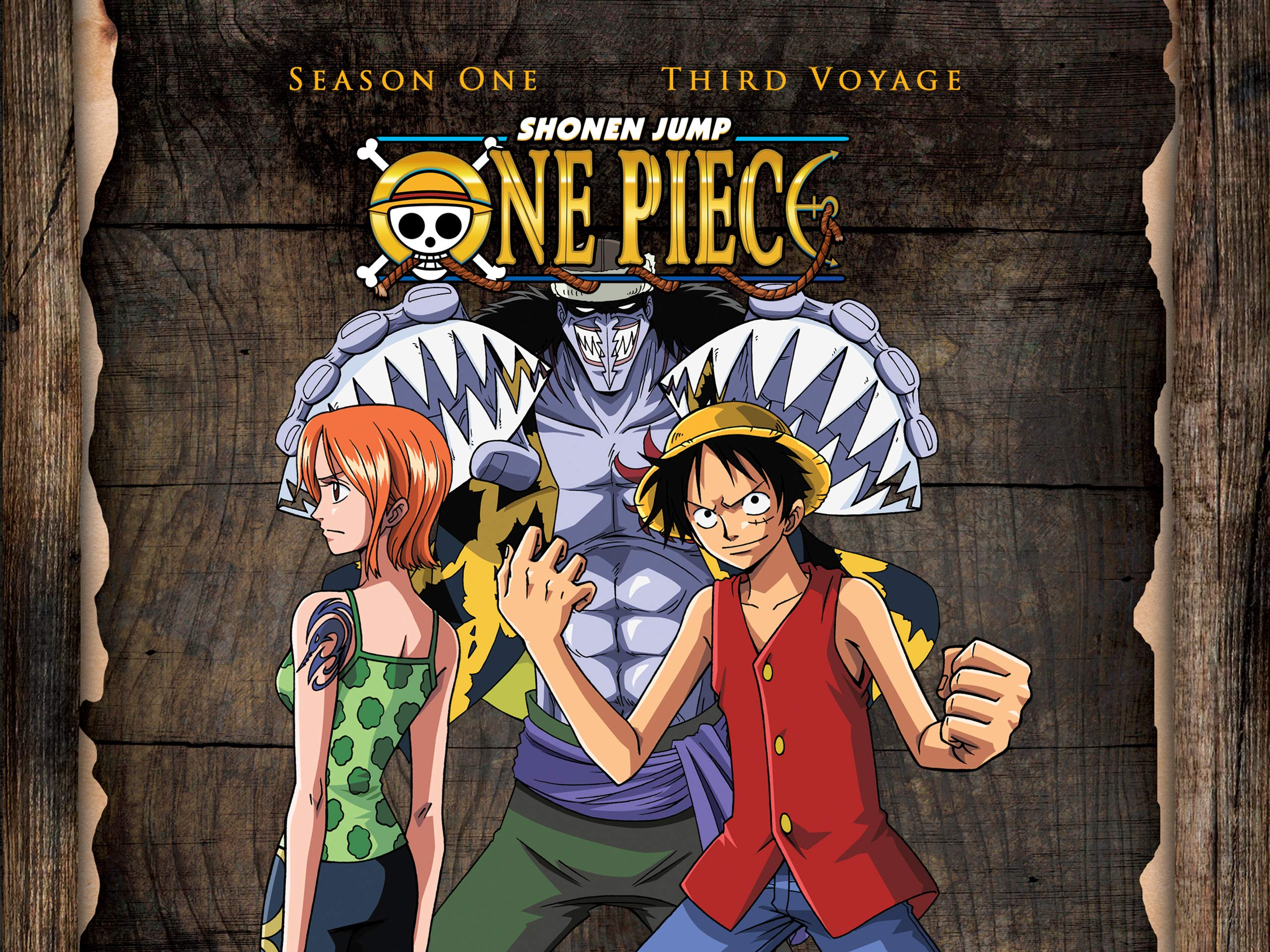 Watch One Piece Season 1 Third Voyage Original Japanese Version Prime Video
