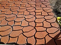 Amazon.com : Scepter 04241 Pathmate Random Stone Mold : Outdoor