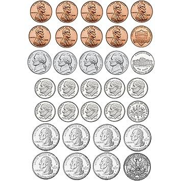 amazon co jp math die cut magnets u s coins ホーム キッチン