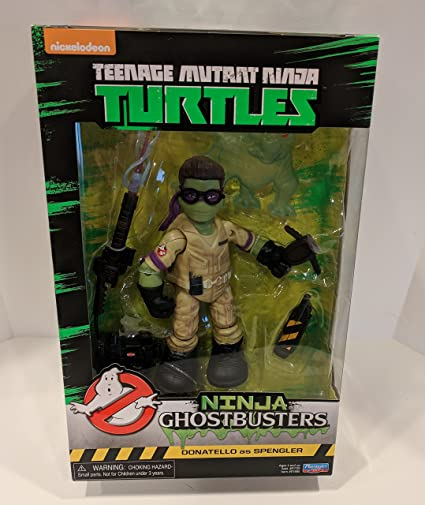 Playmates Toys Ninja Ghostbusters Teenage Mutant Ninja Turtles TMNT Donatello as Spengler