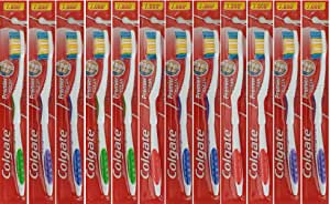 Colgate Premier Classic Clean Medium Toothbrush (Card of 12)