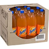 Sunkist Orange Soft Drink, 12 x 1.25L