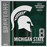 Msu Academic Calendar.2019 Michigan State University Wall Calendar Tf Publishing
