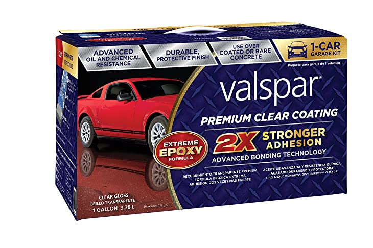 Valspar (81052) Premium Clear Epoxy Kit - 1 Gallon
