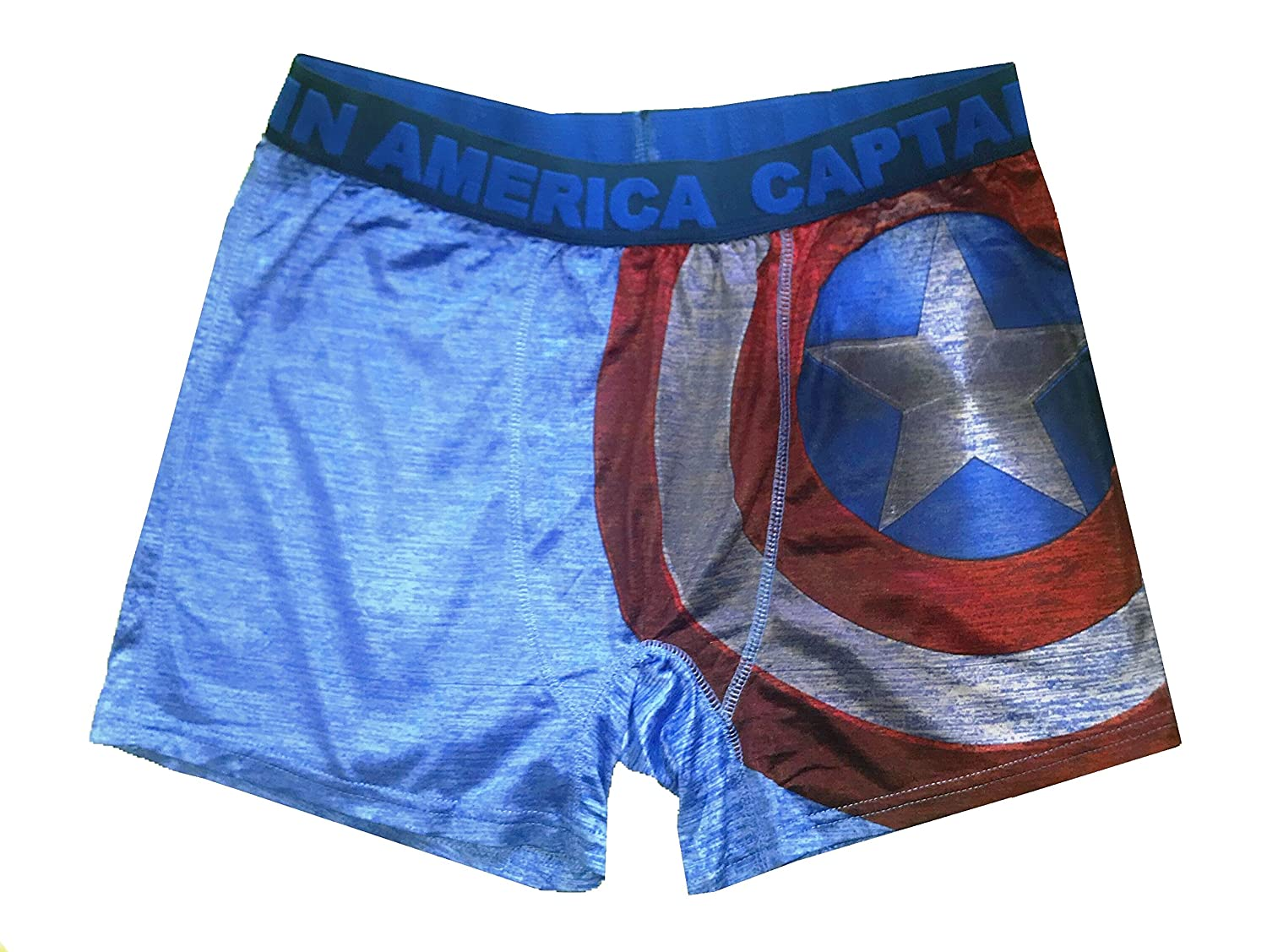 918203bc122b6 Marvel Wear Captain America Storm Shield Boxer Brief For Men at Amazon  Men's Clothing store: