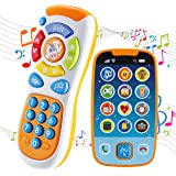 JOYIN Smartphone Toys for Baby, Remote Control Baby Phone with Music, Baby Learning Toy, Birthday Gifts for Baby, Infants, Ki
