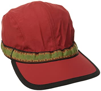 e0d8f9ae KAVU Synthetic Strap Cap, Red, Medium: Amazon.co.uk: Sports & Outdoors