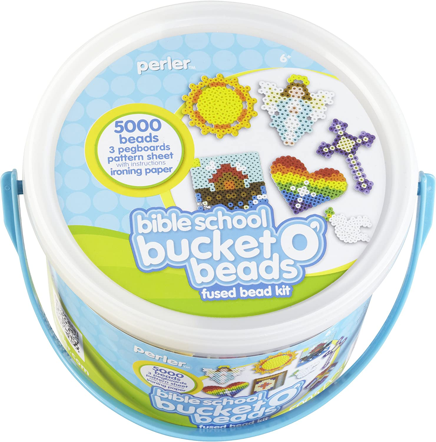 Bible School Bucket o Beads Perler Fused Bead Kit