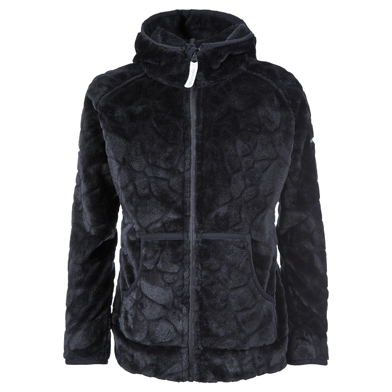 Trespass Childrens Girls Flik Hooded Fleece Jacket UTTP1101_4