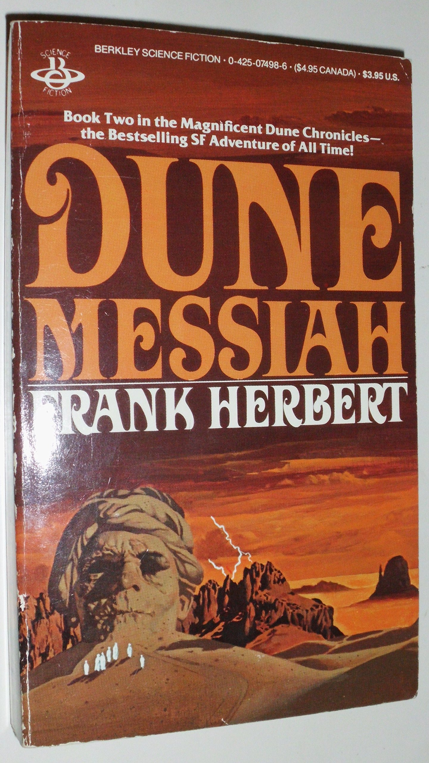 Dune Messiah (Dune Chronicles (Last Unicorn)), Herbert, Frank