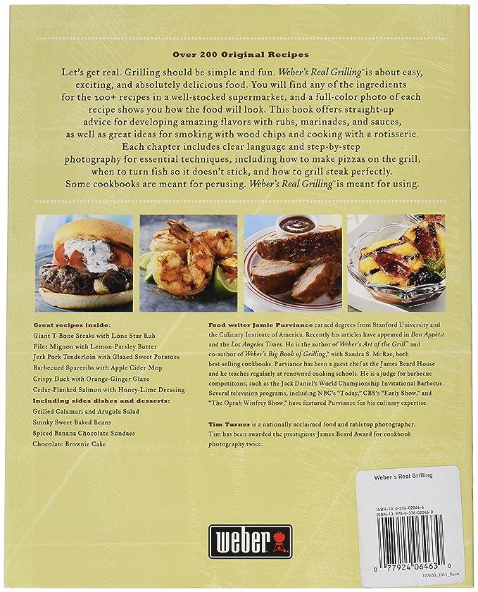 Weber 312 Real gratinar libro de recetas: Amazon.es: Jardín
