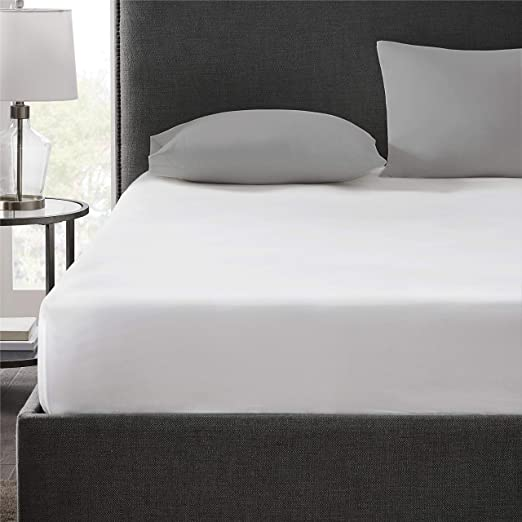 Amazon Com Hyde Lane 400tc Cotton Twin Xl Fitted Sheet White