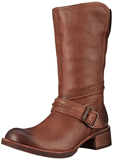 Timberland Women's Whittemore Mid Side-Zip Boot, Dark Brown Woodlands, ...