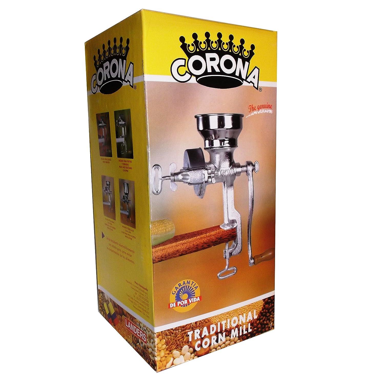 Coronaつ Corn & Grain Mill with High Hopper by www.CoronaMill.com B00RKFSZ5U  100 - Low Hopper 100 - Low Hopper