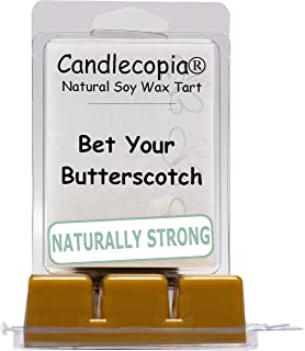 product image for Candlecopia Bet Your Butterscotch Strongly Scented Hand Poured Vegan Wax Melts, 12 Scented Wax Cubes, 6.4 Ounces in 2 x 6-Packs