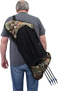 Southland Archery Supply SAS Compound Bow Cover Sleeve Sling Quick Slip Design