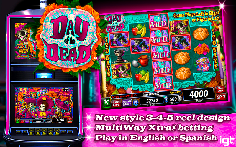 Lottery day of the dead slot machine online igt kings