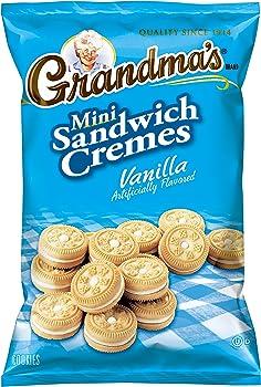 24-Pack Grandma's 3.71 Ounce Vanilla Creme Mini Cookies