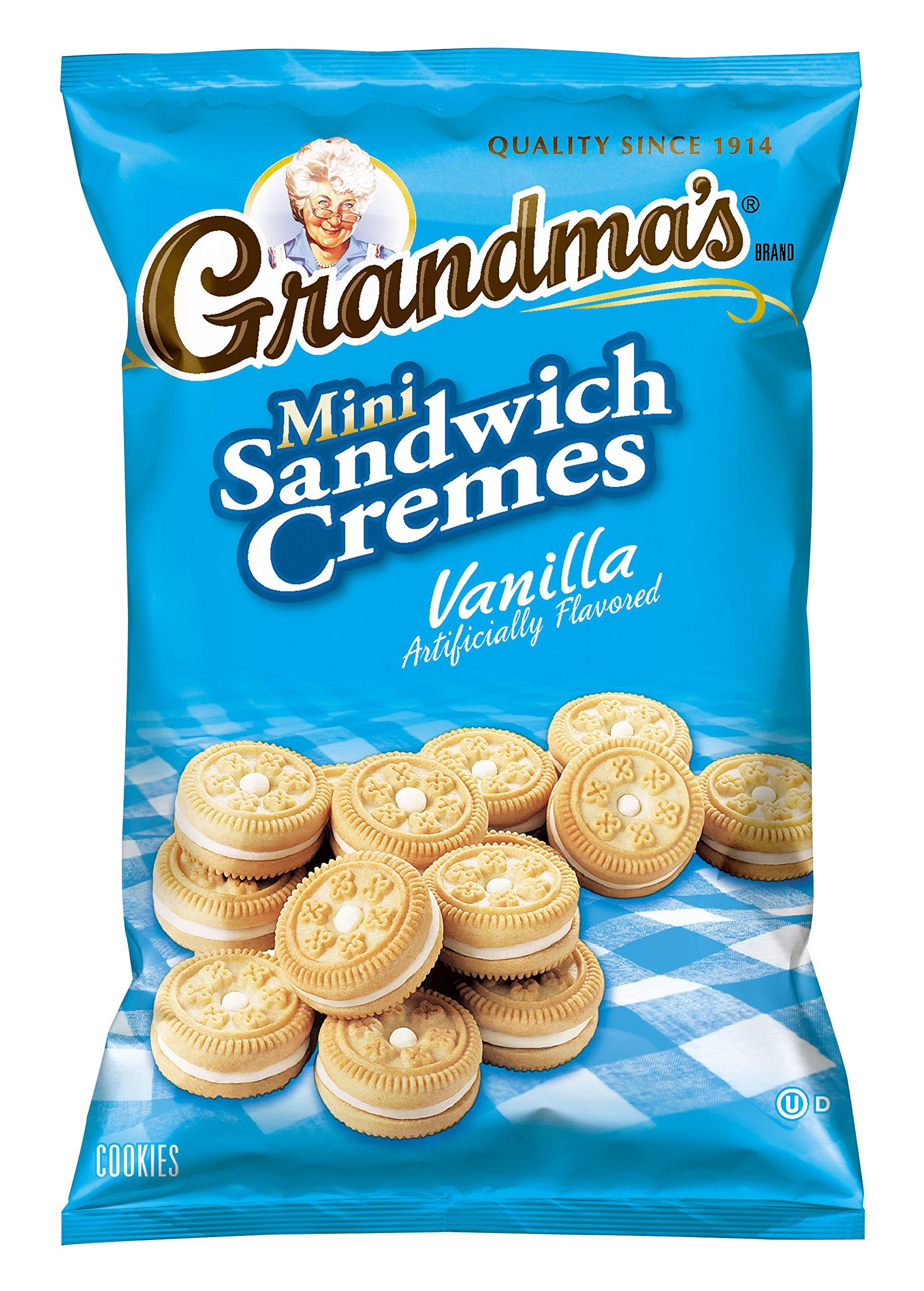 Amazon.com: Grandma\'s Sandwich Creme Cookies, Vanilla, 3.03 Ounce ...