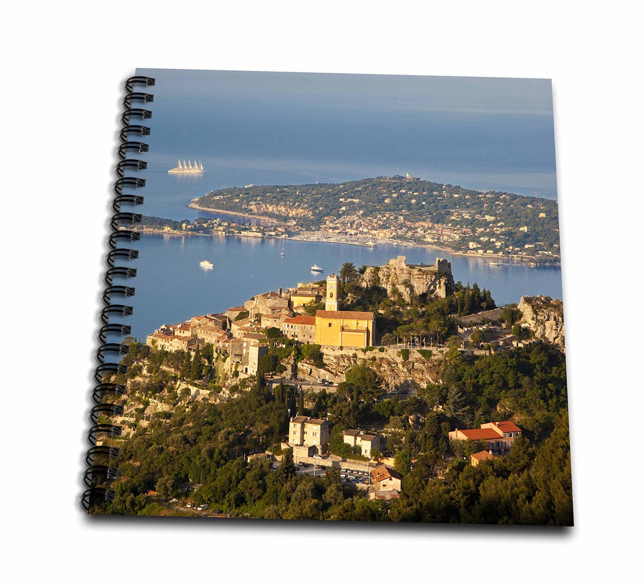 3D Rose db_136091_2 3dRose Eze, St. Jean-Cap Ferrat, Provence, France-EU09 BJN0348-Brian Jannsen-Memory Book inch, 12'' x 12''