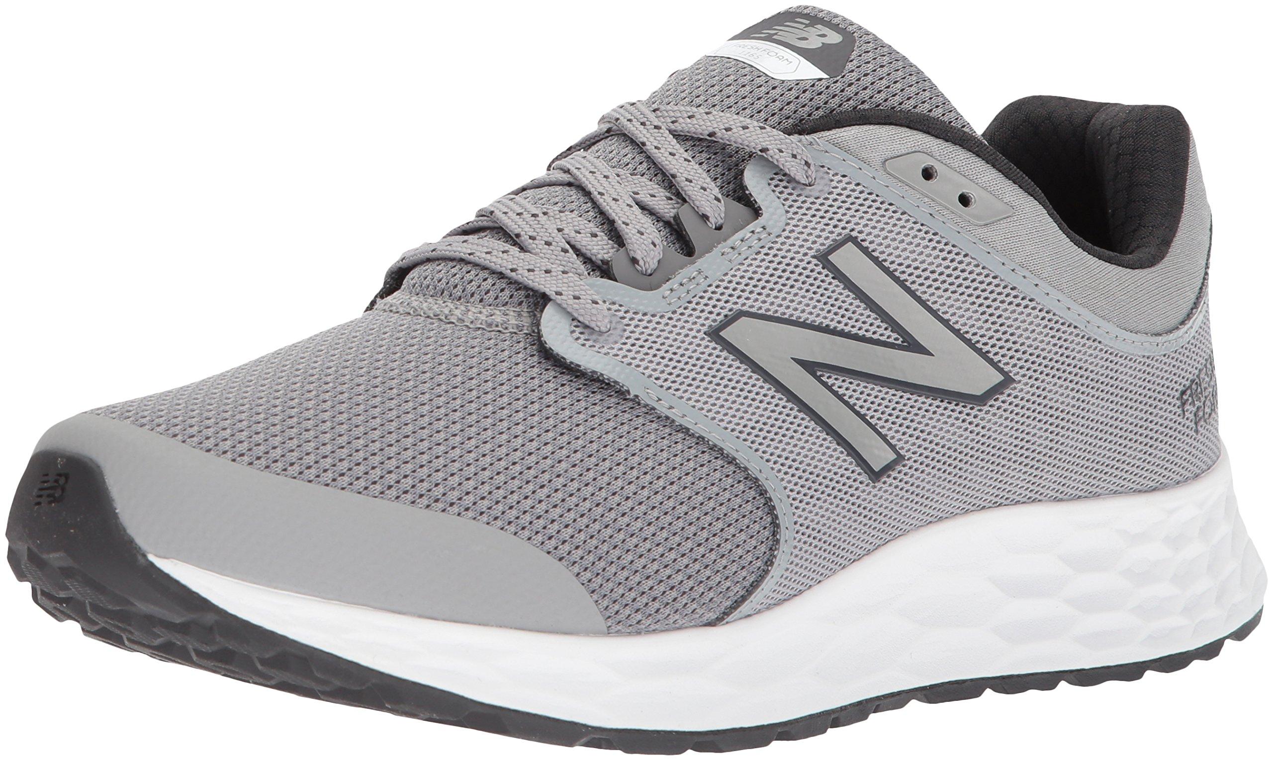 New Balance Men's 1165v1 Fresh Foam Walking Shoe, Grey/Black, 9.5 D US