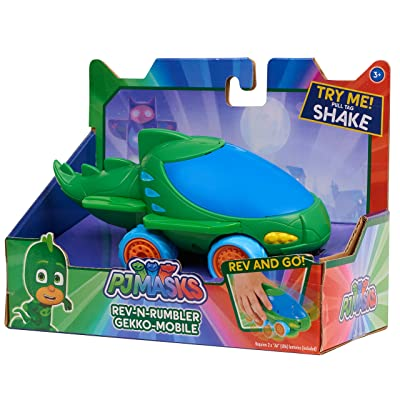 Just Play Pjmask Rev N Rumblers Gekko Mobile Vehicle: Toys & Games