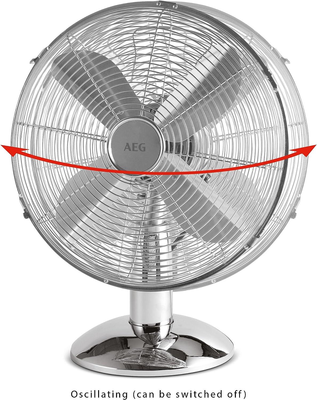 AEG VL 5526 - Ventilador metálico: Amazon.es: Hogar