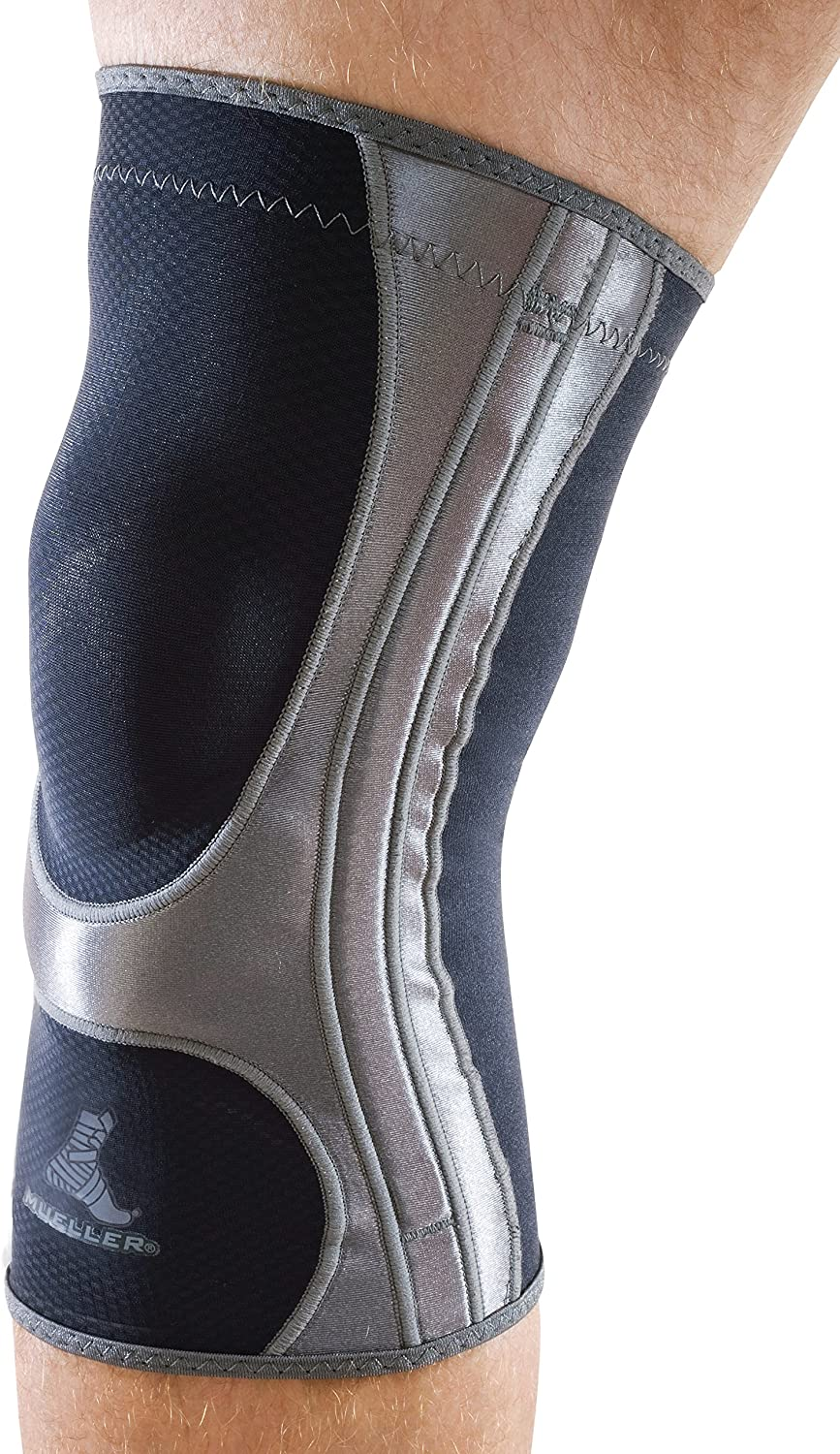 Mueller Sports Medicine Hg80 Knee Support, Black, Medium (59912): Health & Personal Care
