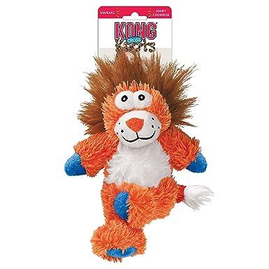 Kong Cross Knots Peluche chirriante Perro Masticar Juguete - Cerdo: Amazon.es: Productos para mascotas