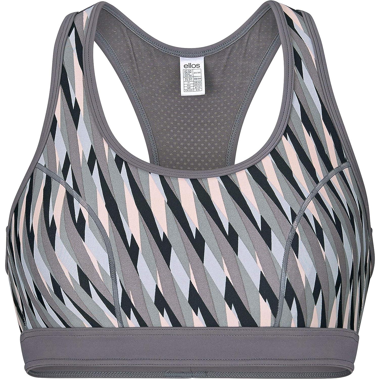 Ellos Womens Plus Size Mesh-Back Sports Bra