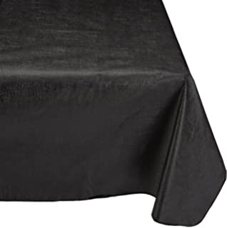 Superieur Carnation Home Fashions Vinyl Tablecloth With Polyester Flannel Backing,  52 Inch, By 90