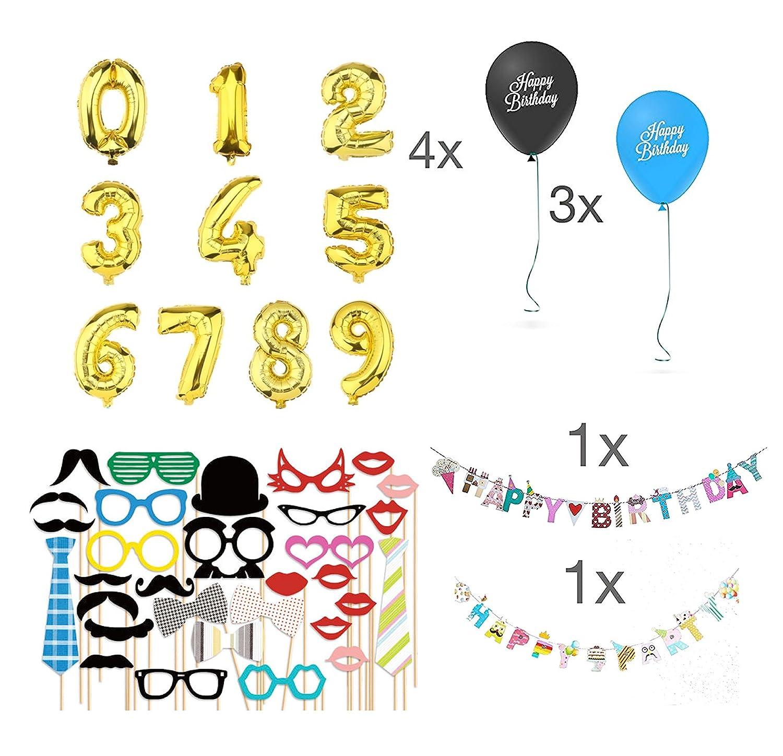 TK Gruppe Timo Klingler Decoración de cumpleaños para Todos ...