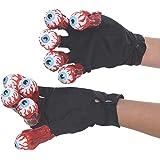 Rubie's Costume Men's Beetlejuice Adult Gloves with Eyeballs