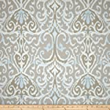 Magnolia Home Fashions Winchester Ikat Dusk Fabric By The Yard