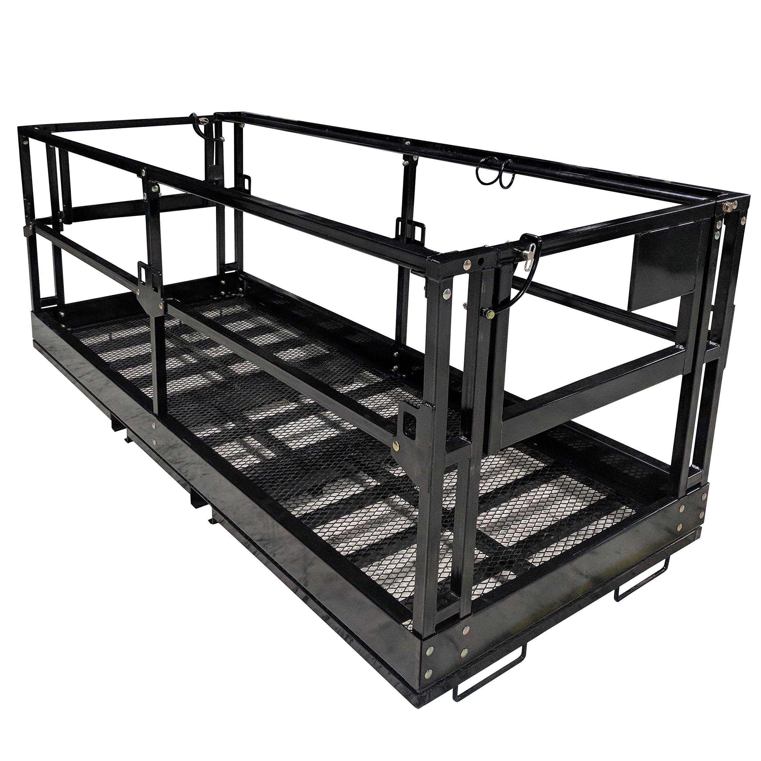 Titan 4'x9' 8'' Telehandler Work Platform Man Basket