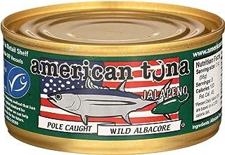 product image for AMERICAN TUNA Wild Albacore Tuna with Jalapeno, 6 OZ