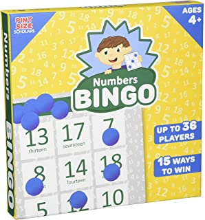 Numbers Bingo, Up to 36 Players by Pint-Size Scholars
