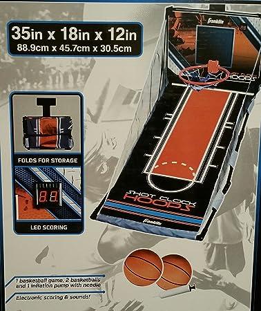 Captivating Franklin Shot Clock Hoops Over The Door Indoor Basketball Game With Balls  And Scoreboard