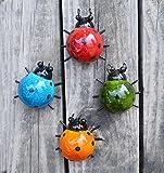 GIFTME 5 金属花墙装饰 瓢虫