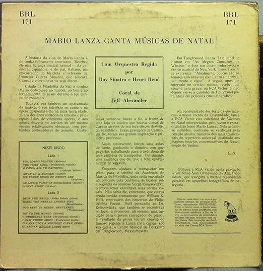 Mario Lanza - MARIO LANZA CANTA MUSICAS DE NATAL vinyl record - Amazon.com Music