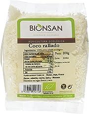 Bionsan Coco Rallado - 6 Paquetes de 200 gr - Total: 1200 gr