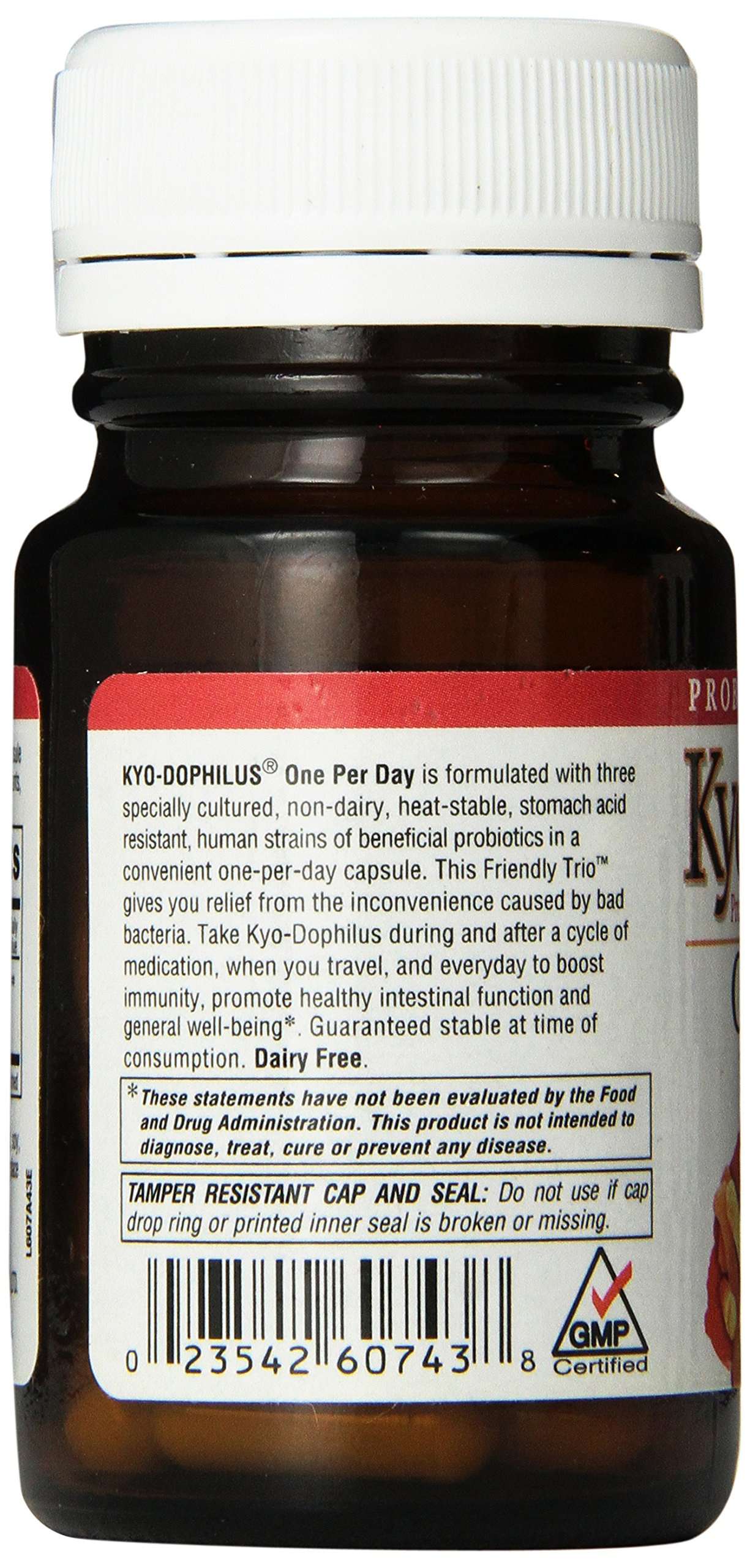 Kyo-Dophilus One Per Day Probiotic Supplement (30 Capsules ...