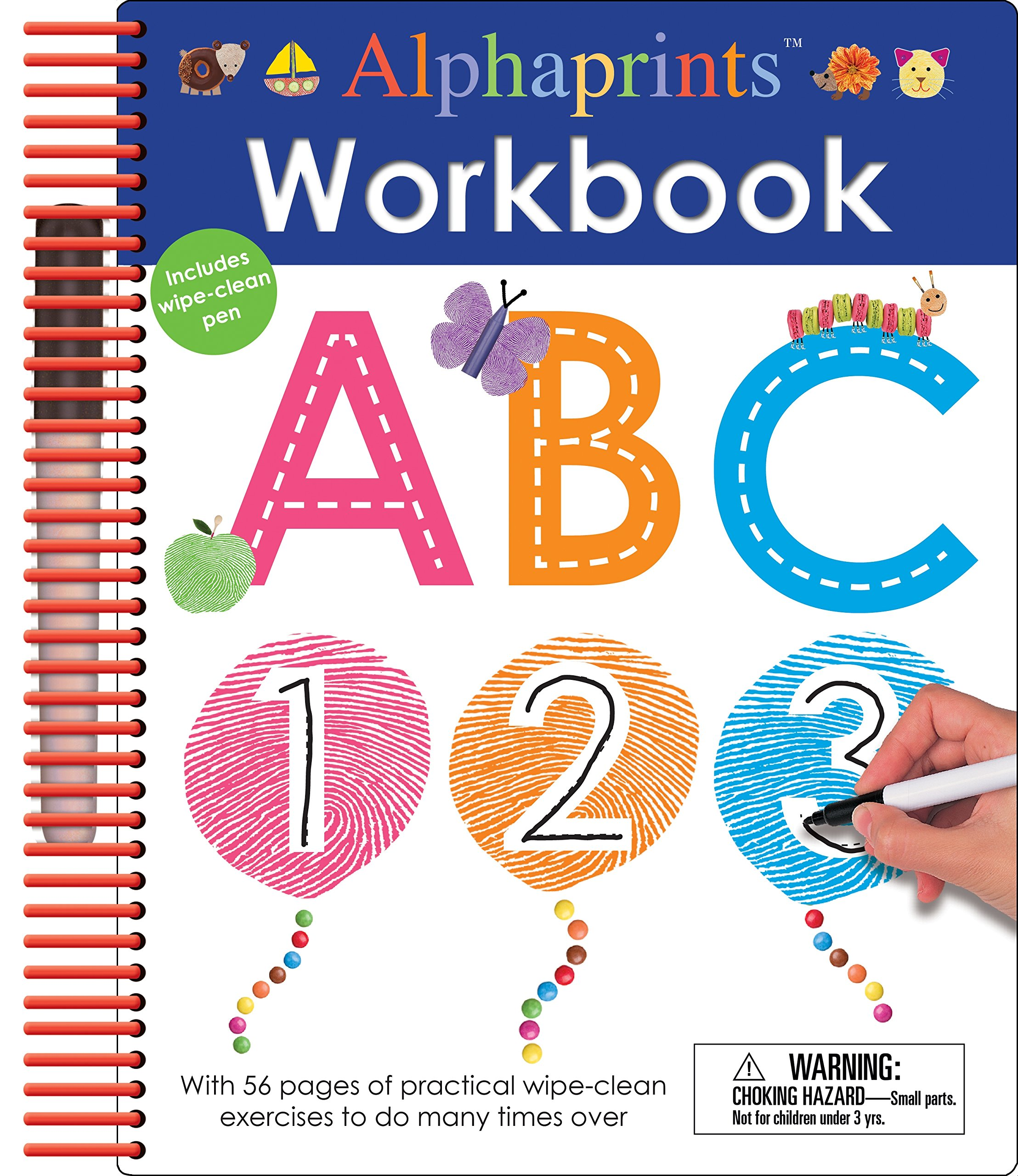 Alphaprints Clean Workbook Activity Books