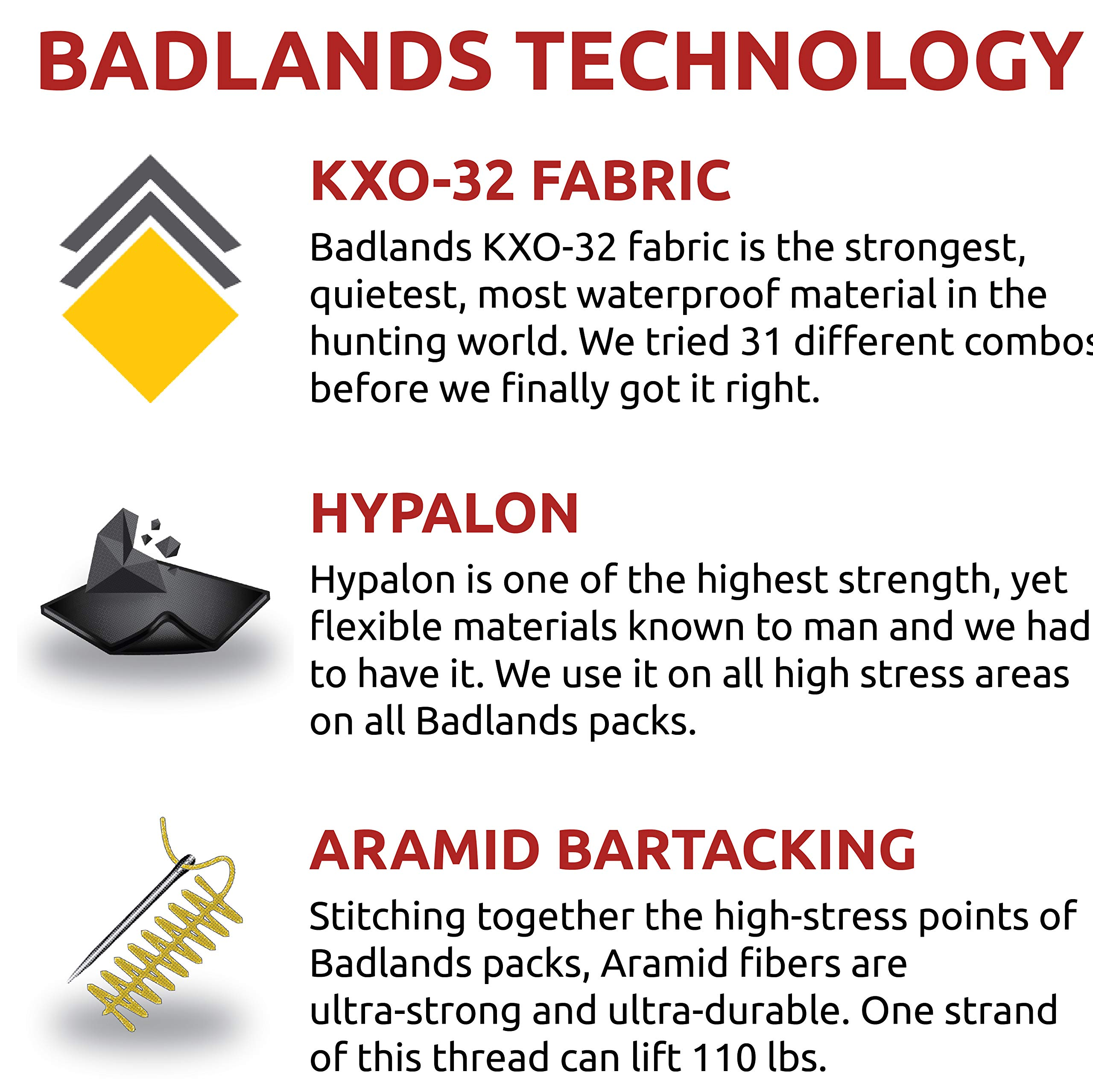 Badlands Superday Camouflage Hunting Backpack - Bow, Rifle, and Pistol Compatible, Approach FX by Badlands (Image #5)