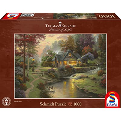 "Schmidt Spiele 58464 ""Peaceful Evening Puzzle (1000-Piece): Toys & Games"