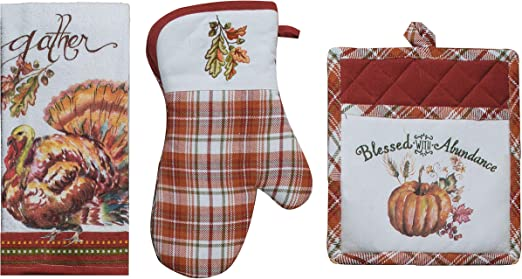 Kay Dee Kitchen Towel Set A Butterfly Lovers Terry Towel /& Flour Sack Towel