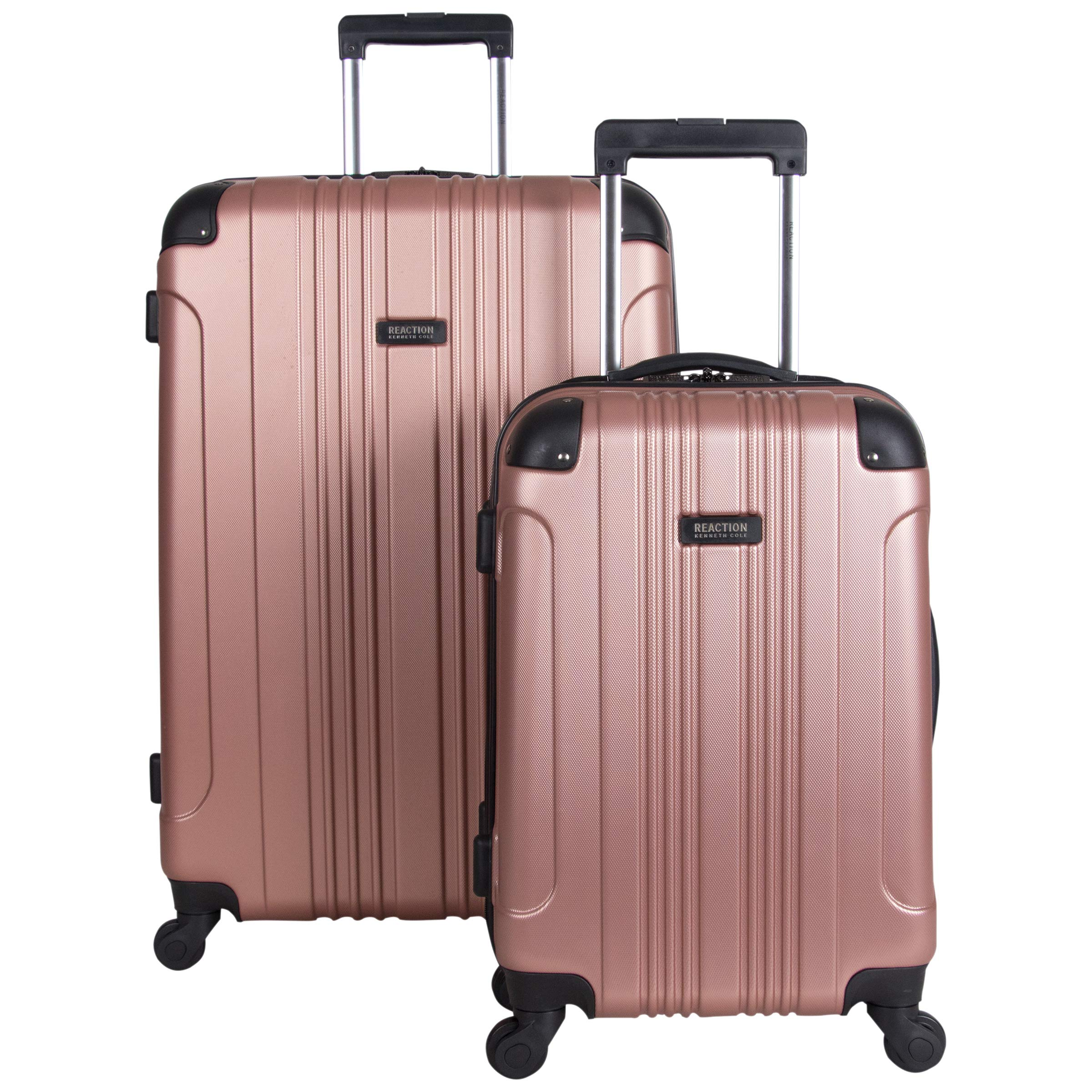 Kenneth Cole Reaction Out Of Bounds 2-Piece Lightweight Hardside 4-Wheel Spinner Luggage Set: 20'' Carry-On & 28'' Checked Suitcase