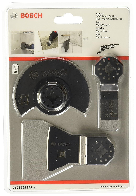 Bosch Professional 2608662342 Fliesen-Set fü r Multi-Cutter 3-teilig